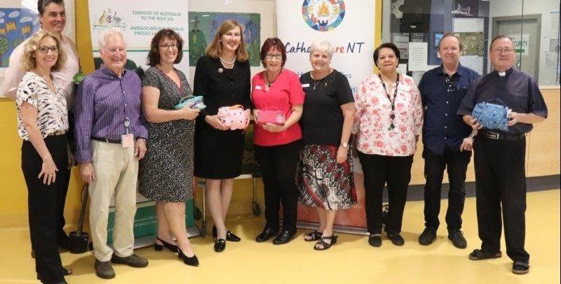 Launch to Toiletry Bag Program at Royal Darwin Hospital